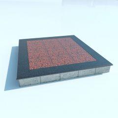 Бессерный фундамент + гранитная плитка