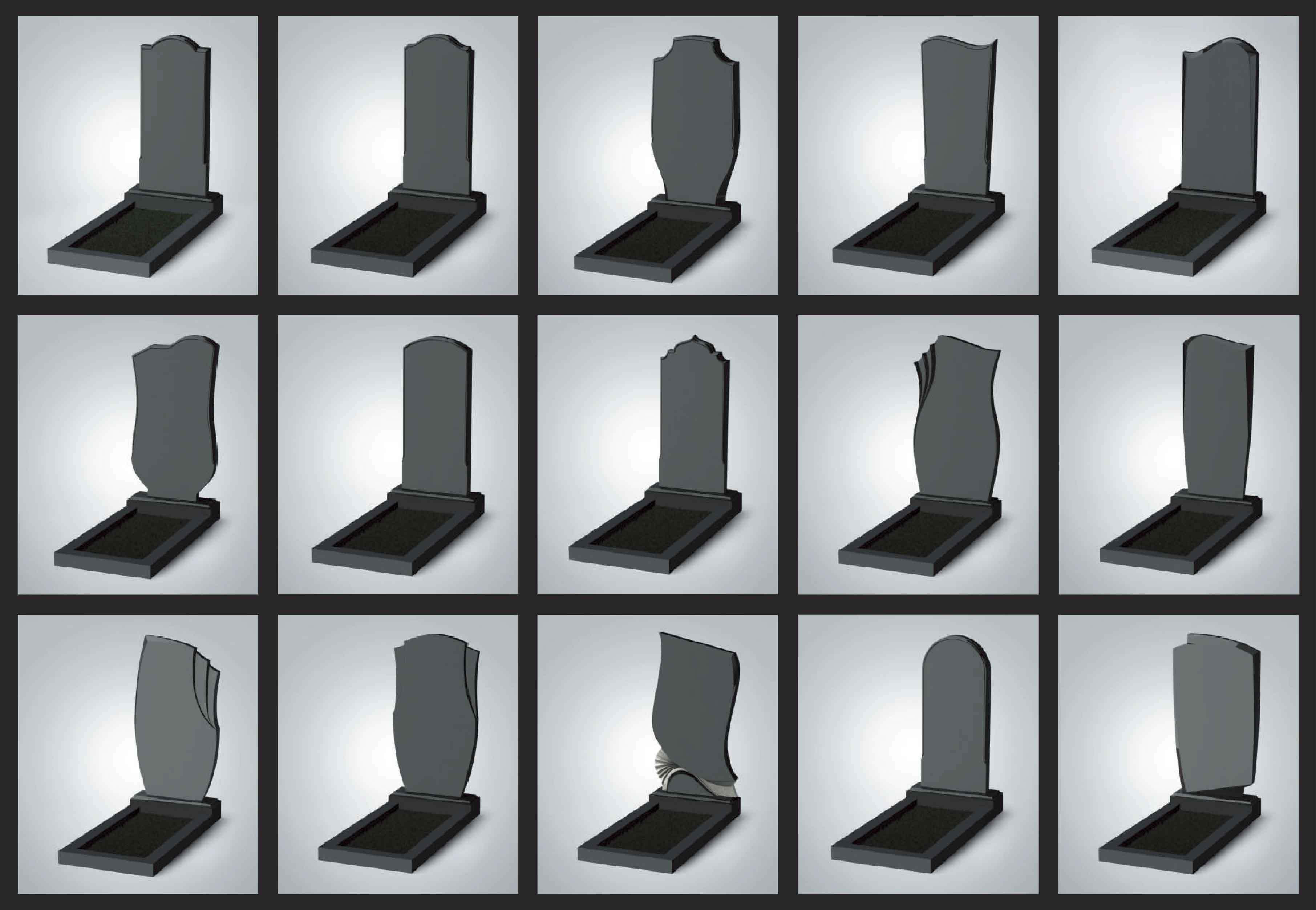 формы памятников со скидкой