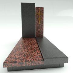 Эксклюзивный памятник с двумя стелами