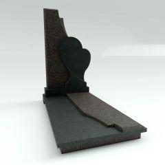 Эксклюзивный памятник в форме сердца