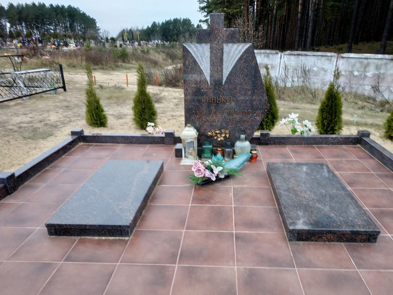 памятник двойной фото 38
