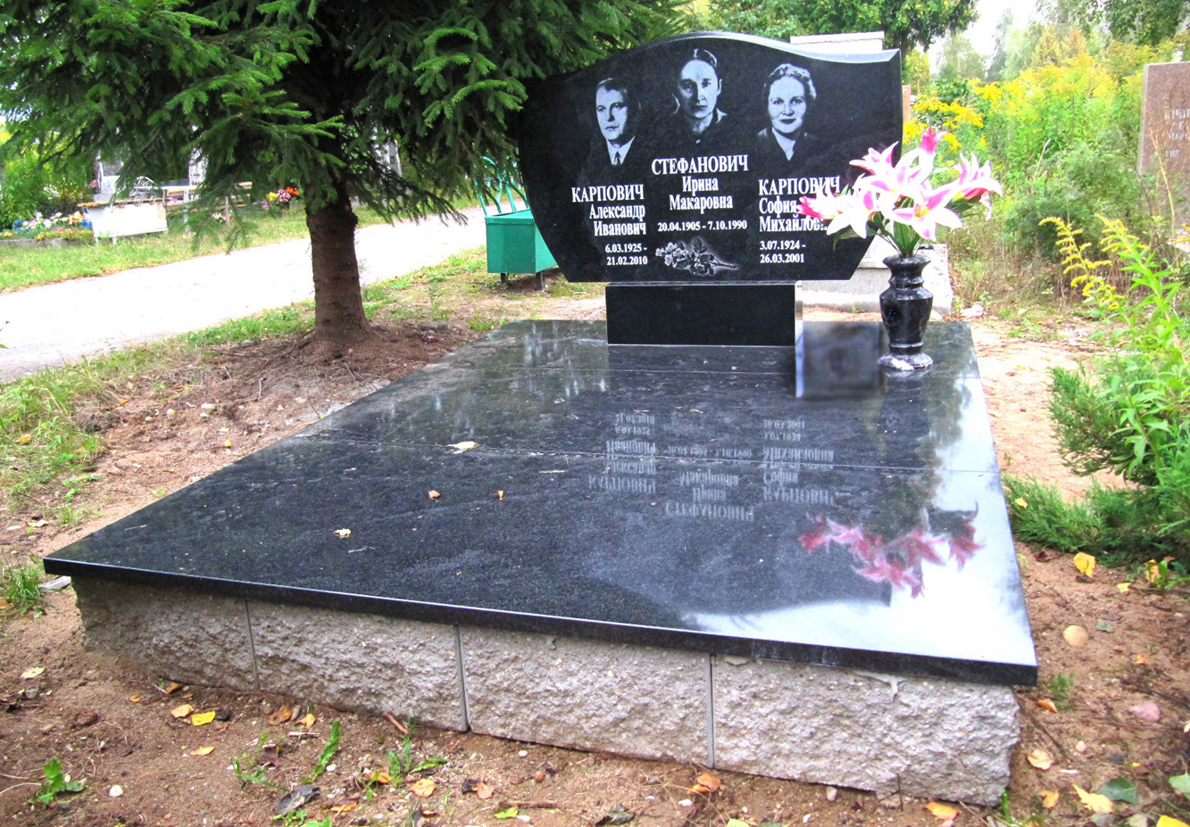 памятник двойной фото 45