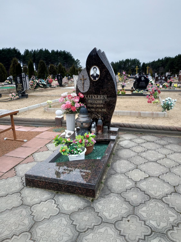 памятник одинарный фото 43